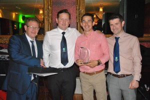 Andrew Baggley - 1st Team Player's Player of the Year