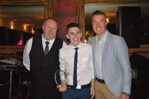 2nds Team Player's Player of the Year Robbie Hagen
