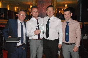 Andrew Telford - 1st Team Manager's Player of the Year