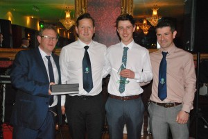 The Brian Montgomery Young Player of the Year - Adrian McCoubrey